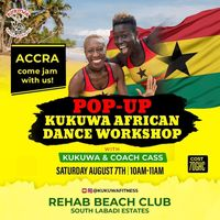 PoP-Up Kukuwa African Dance Workshop