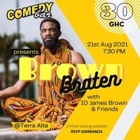 Comedy Bar presents Brown Braten by ID James Brown & Friends