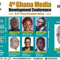 4th Ghana Media Dev't Conference & 2nd Press Freedom Series
