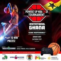Powerz UP NBA 2k21 (Ghana Invitation)