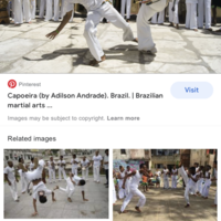 Free workshop on the Afro-Brazilian arts of Capoeira and Maculele