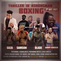 THRILLER IN ASHONGMAN - Boxing Match
