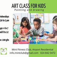 Art Class For Kids (Painting And Drawing)