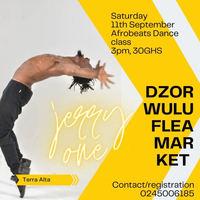 Afrobeats Dance Class with Jerry One (Dzorwulu Flea Market)