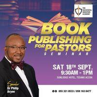 BOOK PUBLISHING FOR PASTORS SEMINAR