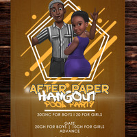 After Paper Hangout (Pool Party)