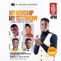 My Worship, My Testimony