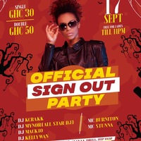 Official Sign Out Party
