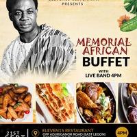Memorial African Buffet