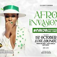 AFRO INVASION- NAIJA INDEPENDENCE DAY PARTY