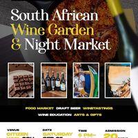 South African Wine Garden & Night Market