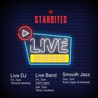 Starbites Tema Live Band