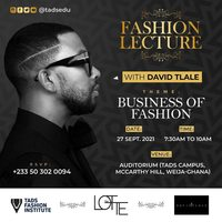 Fashion Lecture with David Tlale