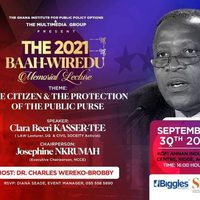 The 2021 Baah-Wiredu Memorial Lecture