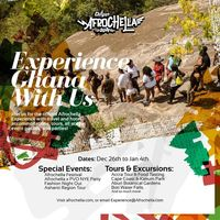 Afrochella 2021 - Experience Ghana with us