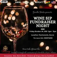 Wine Sip,  Fundraiser