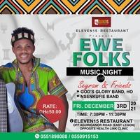 Ewe Folks Music Night