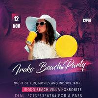 Iroko Beach Party
